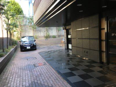 川島第20ビル業者用駐車場